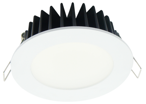 Step 12 LED 12W Downlight White Frame Cool White - Lights Fans Action