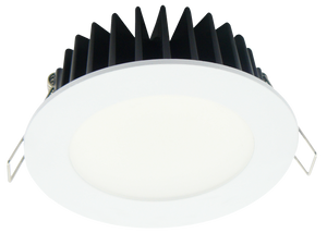 Step 12 LED 12W Downlight White Frame Cool White