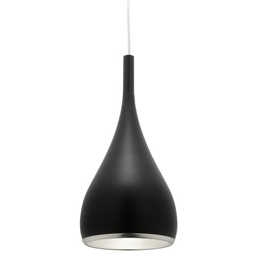 Aero Single Pendant Black - Lights Fans Action