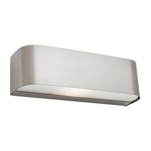 Benson single light wall sconce - SATIN CHROME