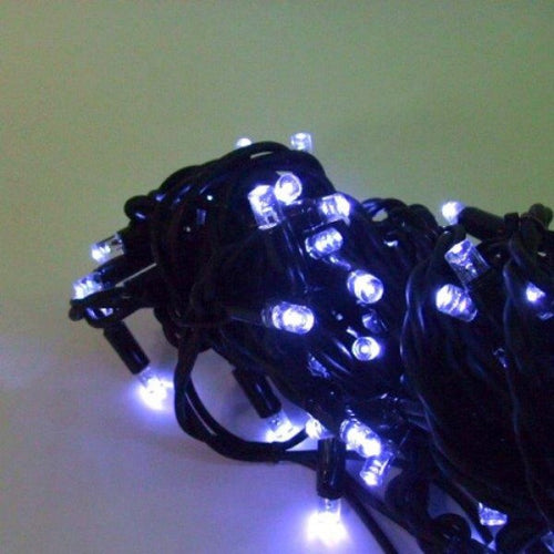 Fairy Lights 10m Black (Cool White LED)