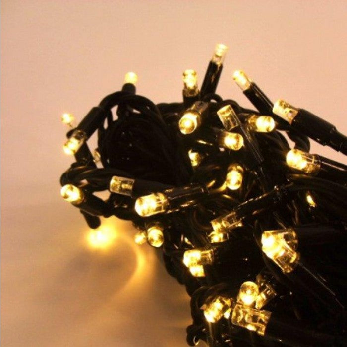 Fairy Lights 5m Black (Warm White LED)