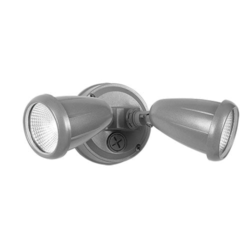 ILLUME Exterior Double Spotlight Silver