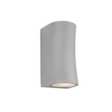 Lisbon Silver Exterior Wall Light