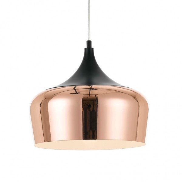 Polk 30cm Pendant Black Copper