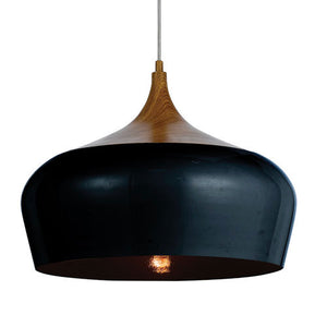 Polk 46cm Pendant Black Oak - Lights Fans Action