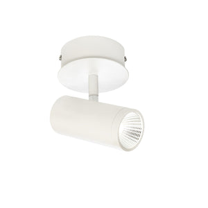Urban 1 Light LED Single Spot Light White - Lights Fans Action