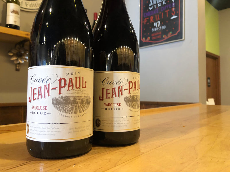 Weekly Wine Deal: 2018 Cuvee Jean Paul Rouge