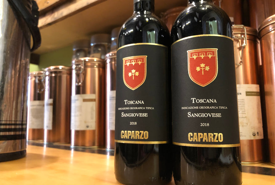 Weekly Wine Deals: 2018 Caparzo Sangiovese IGT