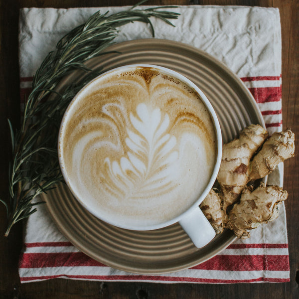 Rosemary Ginger Latte