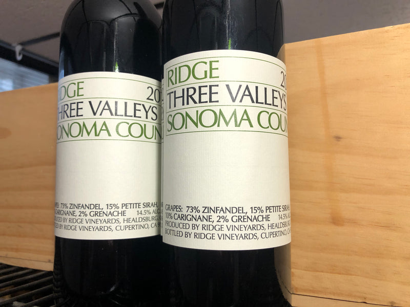 Weekly Wine Deal: 2017 Three Ridges Red