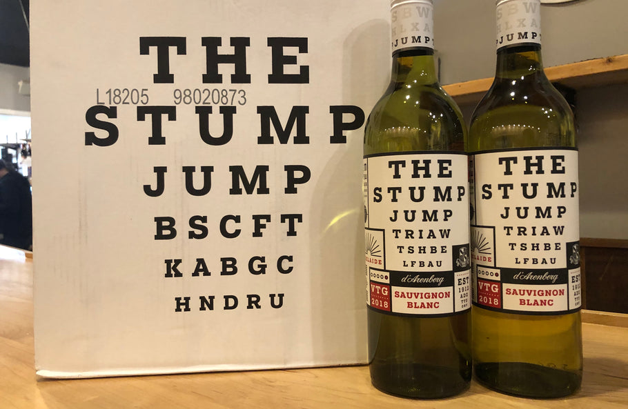 Weekly Wine Deals: 2018 d'Arenberg Stump Jump Sauv Blanc
