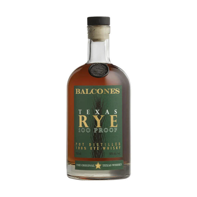 Balcones Texas Rye 100proof