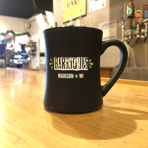 Barriques Black 15oz Coffee Mug