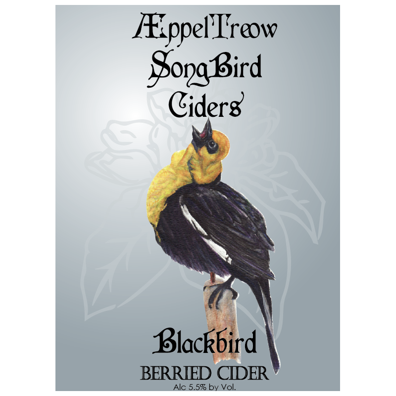 AEppel Treow Blackbird Berried Cider
