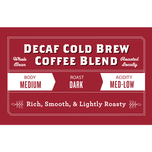Decaf Cold Brew Coffee Blend