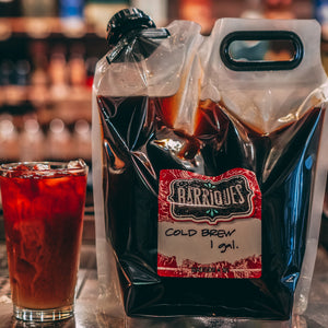 Barriques Cold Brew - 1 Gallon