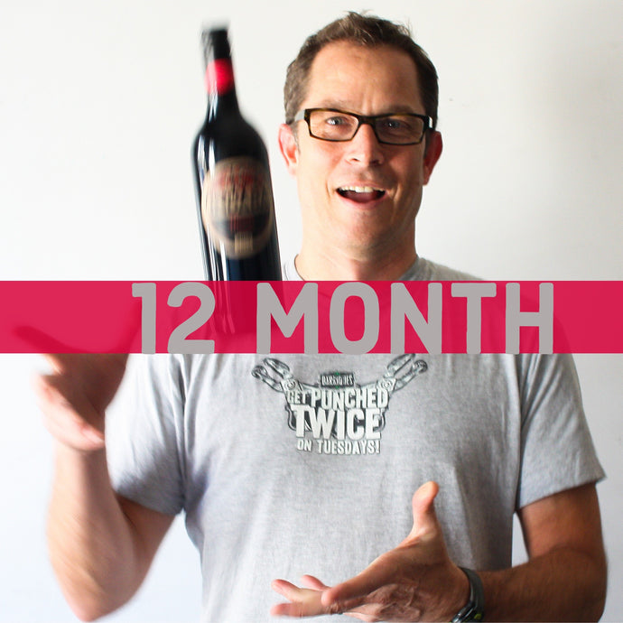 Finn Picks Wine Club 12 Month Subscription