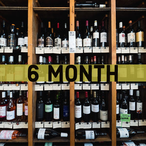 6 Month Wall of 100 Wine Club