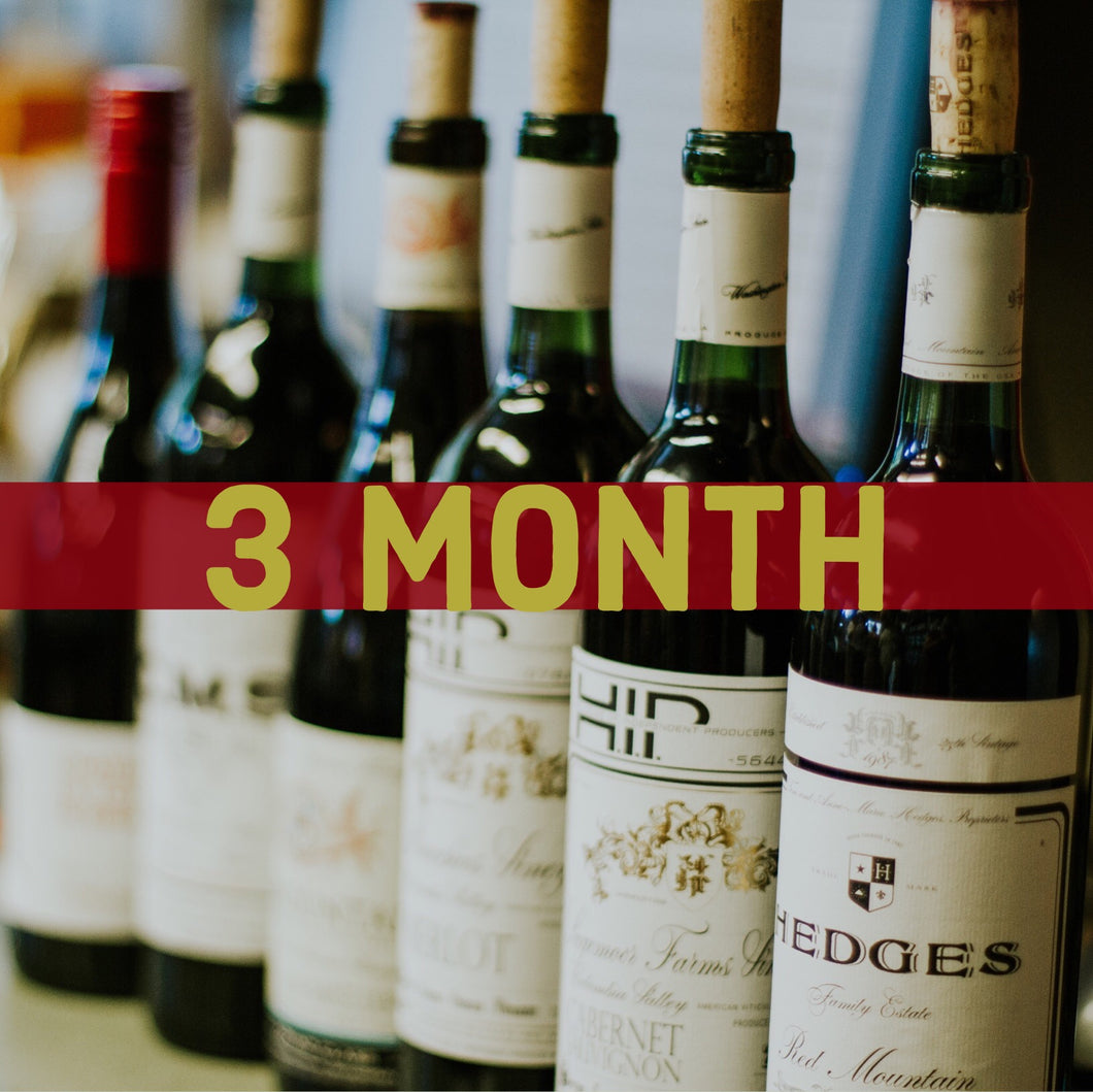 3 Month Green Wine Club