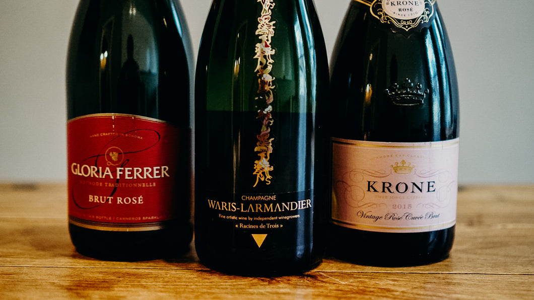 Sparkling Wines & Fresh Berries Tasting