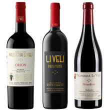 Load image into Gallery viewer, Zoom Masseria Li Veli Italian Wine Tasting Pack