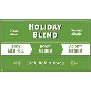 Holiday Bundle - Bodum 8 Cup Press, Grinder & Holiday Blend