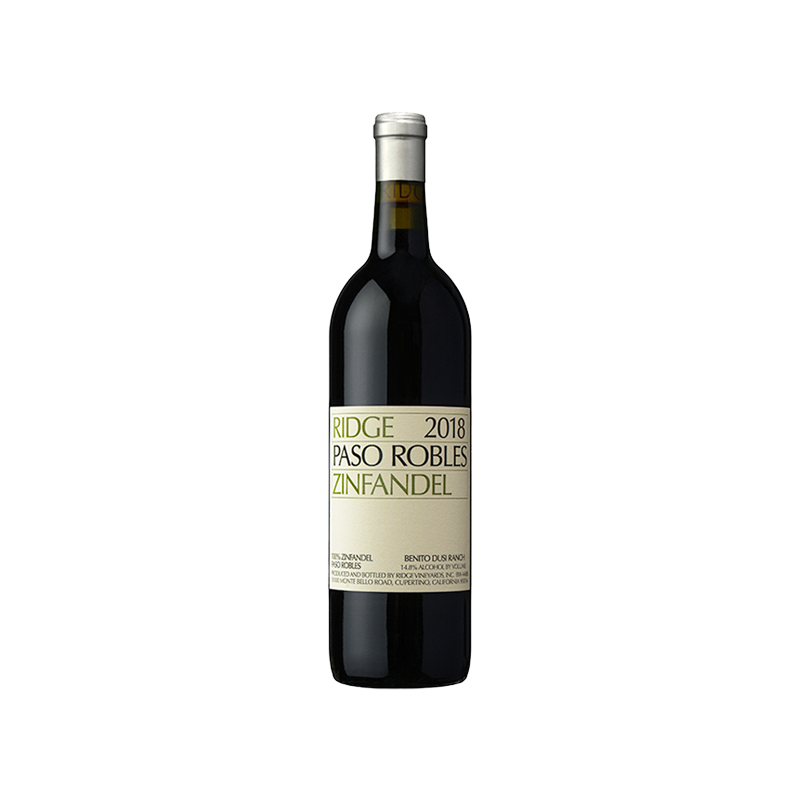 Ridge Vineyards Zinfandel Dusi Ranch