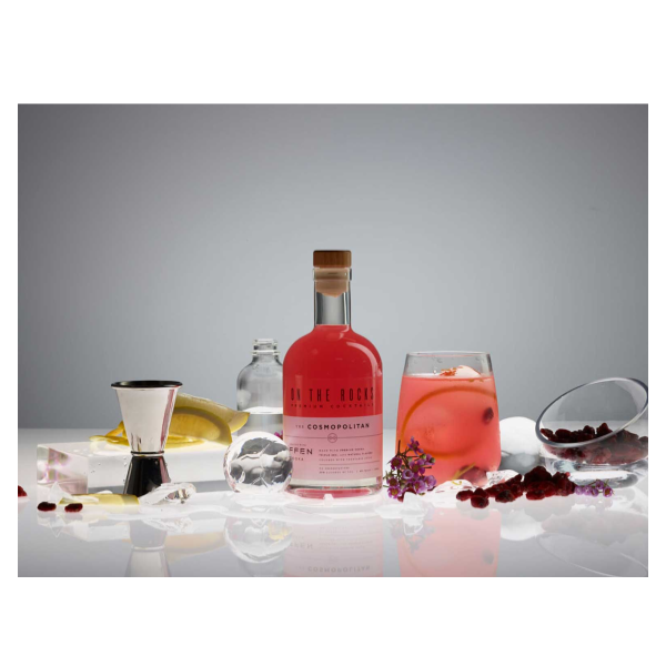 On the Rocks Effen Cosmopolitan - 375ml