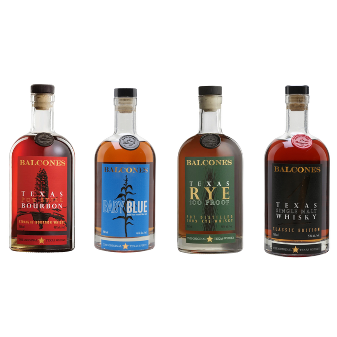 Zoom Balcones Whiskey Tasting Pack