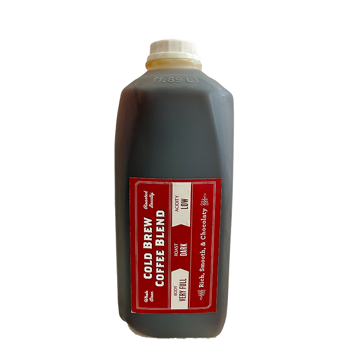 Barriques Cold Brew - 1/2 Gallon