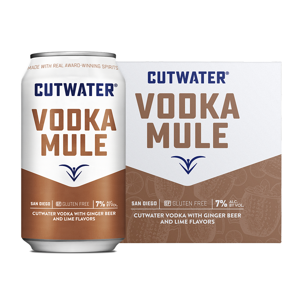 Cutwater Cocktails Vodka Mule