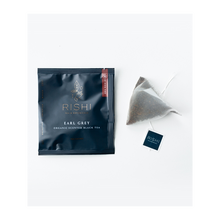 Load image into Gallery viewer, Rishi Tea Organic Earl Grey 15ct Sachets 2 Pack