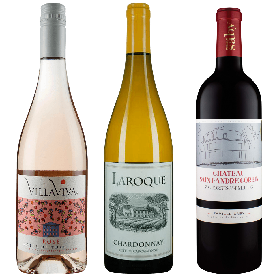 Zoom Exploring French Wine Part Deux Tasting Pack