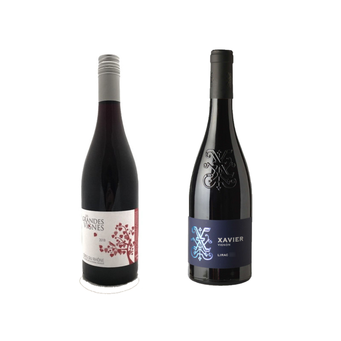 Zoom French Rhone Valley Tasting Pack