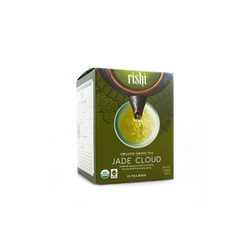 Rishi Tea Organic Jade Cloud 15ct Sachets 2 Pack