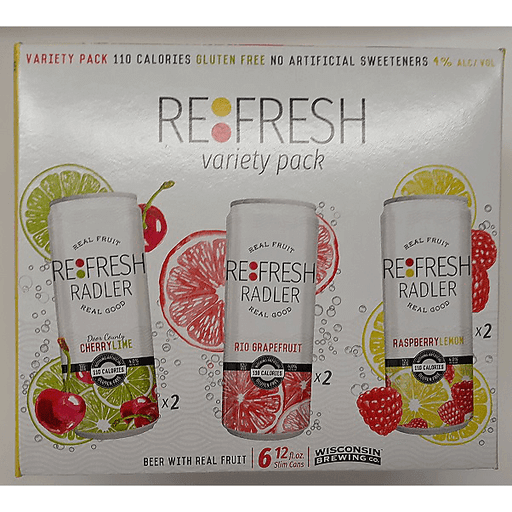 WI Brewing Refresh Variety Pack