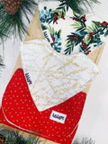 Christmas Joy 2 Bib set
