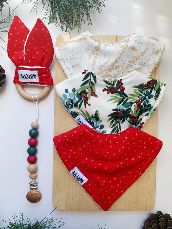 Christmas Joy 3 Bib Bundle
