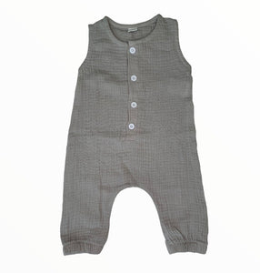 Baby Jumpsuit Taupe