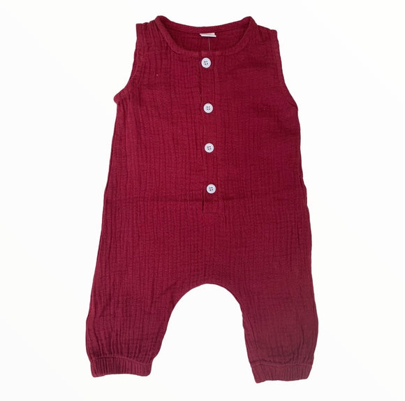 Baby Jumpsuit Wine