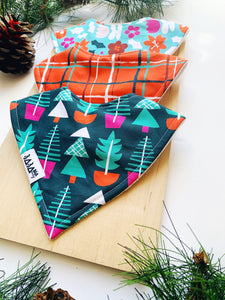 Christmas Trees 3 Bib Pack
