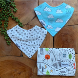 Neighborhood Pals Double Bib Set