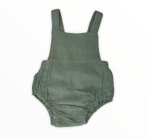 Baby Romper Olive