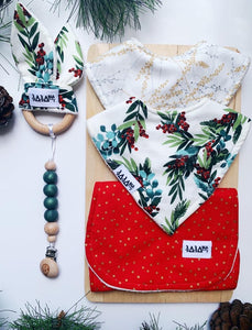 Christmas Joy 2 Bib Bundle