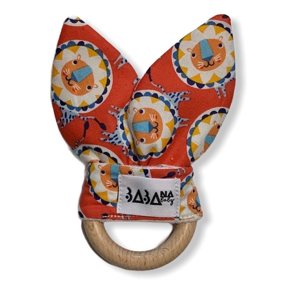 Bunny Teether - Lion Safari (Sale)