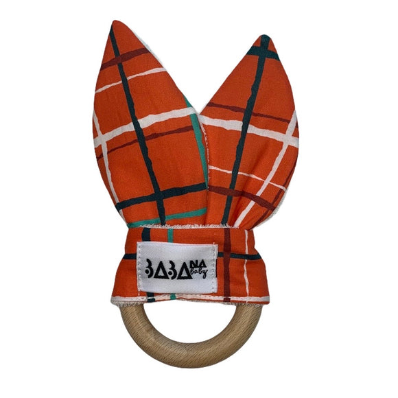 Bunny Ears - Christmas Plaid