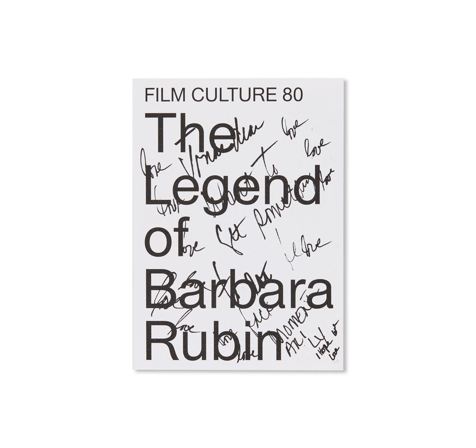 Barbara Rubin: THE LEGEND OF BARBARA RUBIN - FILM CULTURE 80