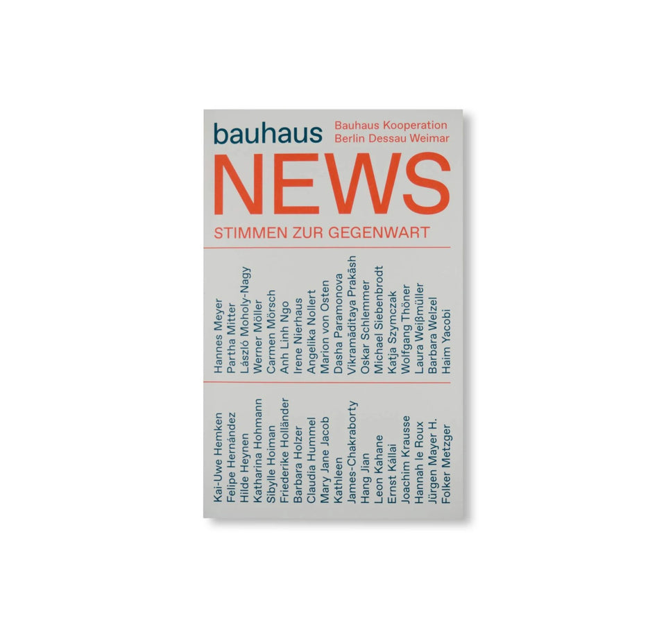 BAUHAUS NEWS - PRESENT POSITIONS