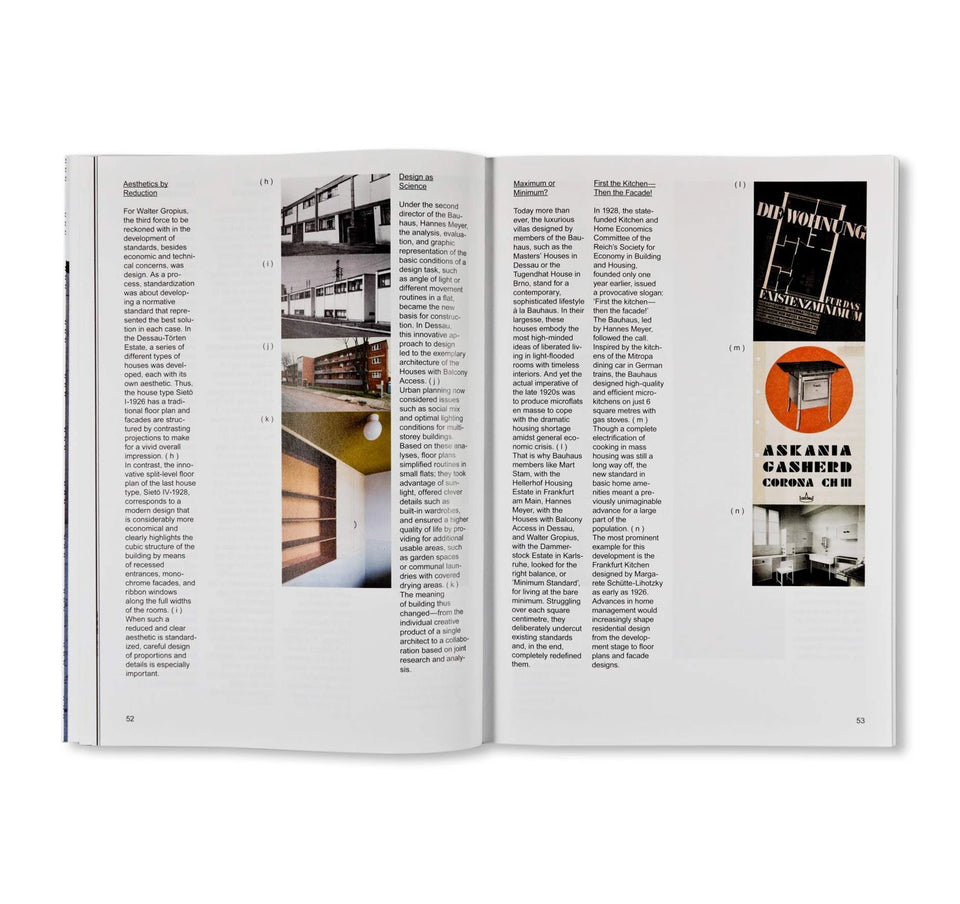 STANDARD - BAUHAUS 10. The Bauhaus Dessau Foundation's Magazine